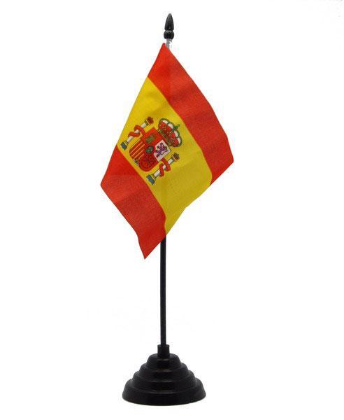 bandera de españa banderin de mesa