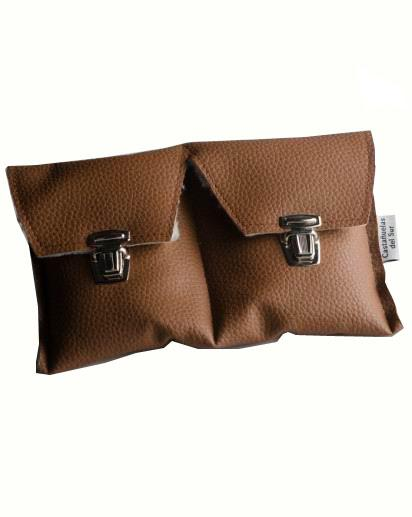 Funda Especial para Castañuelas color Marron