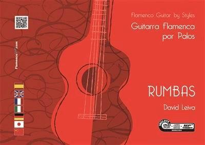 Guitarra Flamenca por Palos. Rumbas. (DVD/CD/Libro). David Leiva