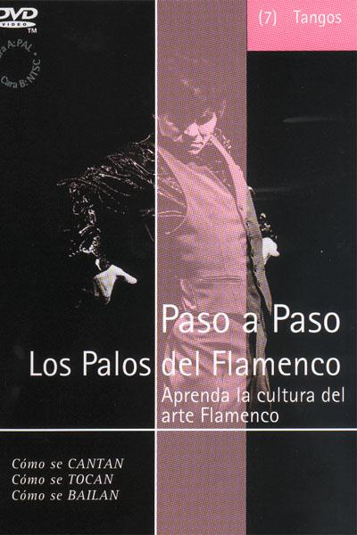 Flamenco Step by Step. Tangos (07) - Dvd - Pal