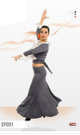 Falda para Baile Flamenco Happy Dance Ref.EF031PS35