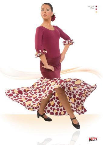 Faldas para Baile Flamenco Happy Dance Ref.EF036PS47PS145