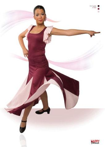 Faldas para Baile Flamenco Happy Dance Ref.EF052PS2PS1