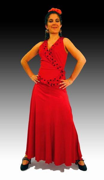 e15441392 Falda flamenca para principiantes. Modelo Ensayo
