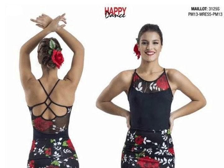 Maillots Flamencos Happy Dance. Ref. 3125S-PM13-MRE55-PM13