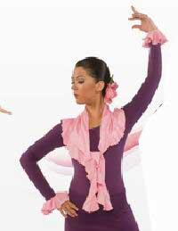 Foulard en maille de couleur unie Happy Dance. Ref.E3912PS40