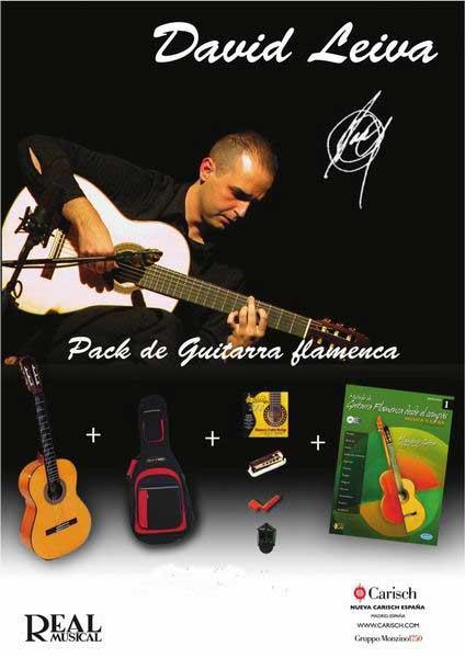 Pack Guitare flamenca professionnel David Leiva