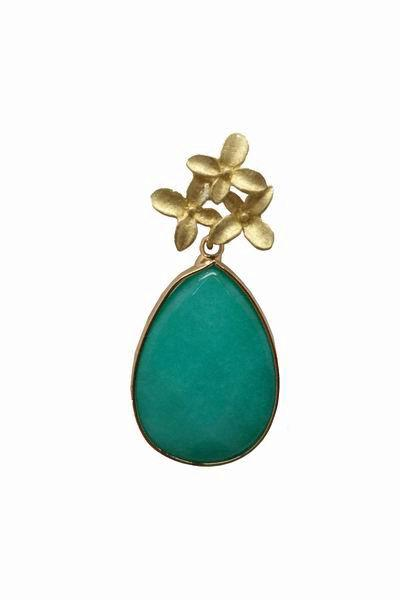 drop pierced women cz green earrings stone long dangle item girls gold plated color water