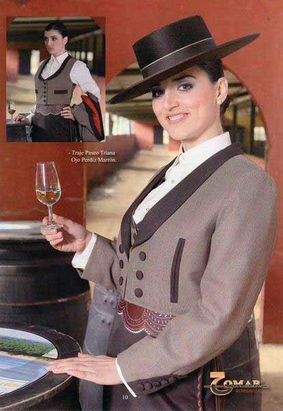 Miradas ganadoras con peinados andaluces Colección De Tutoriales De Color De Pelo - Trajes camperos andaluces para mujer