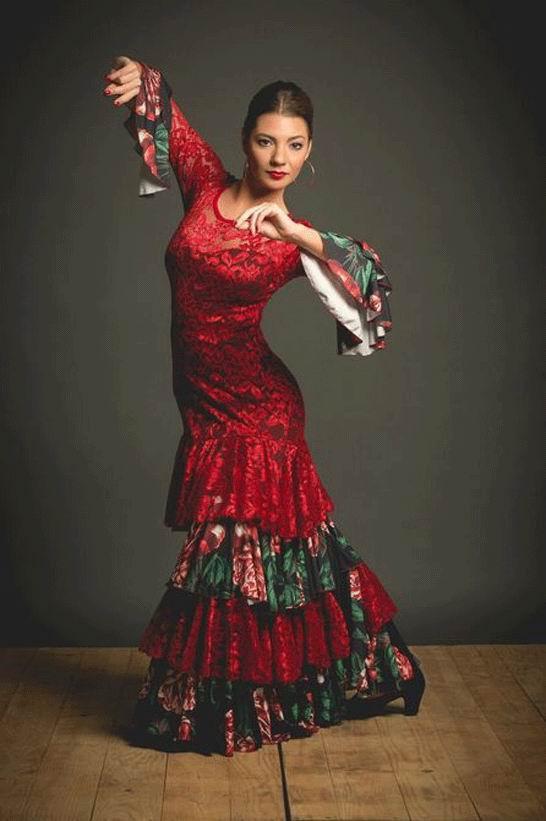 Bailarina de danza cuerpo pintado - 4 8