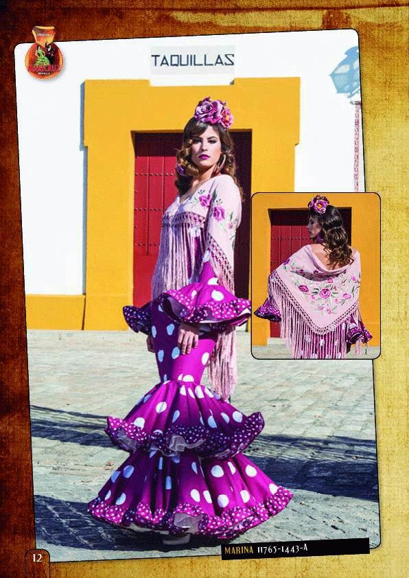 Flamenca Dress Marina model. 2018-2019