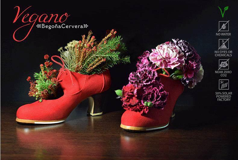 Begoña Cervera Cordonera Vegan Shoes